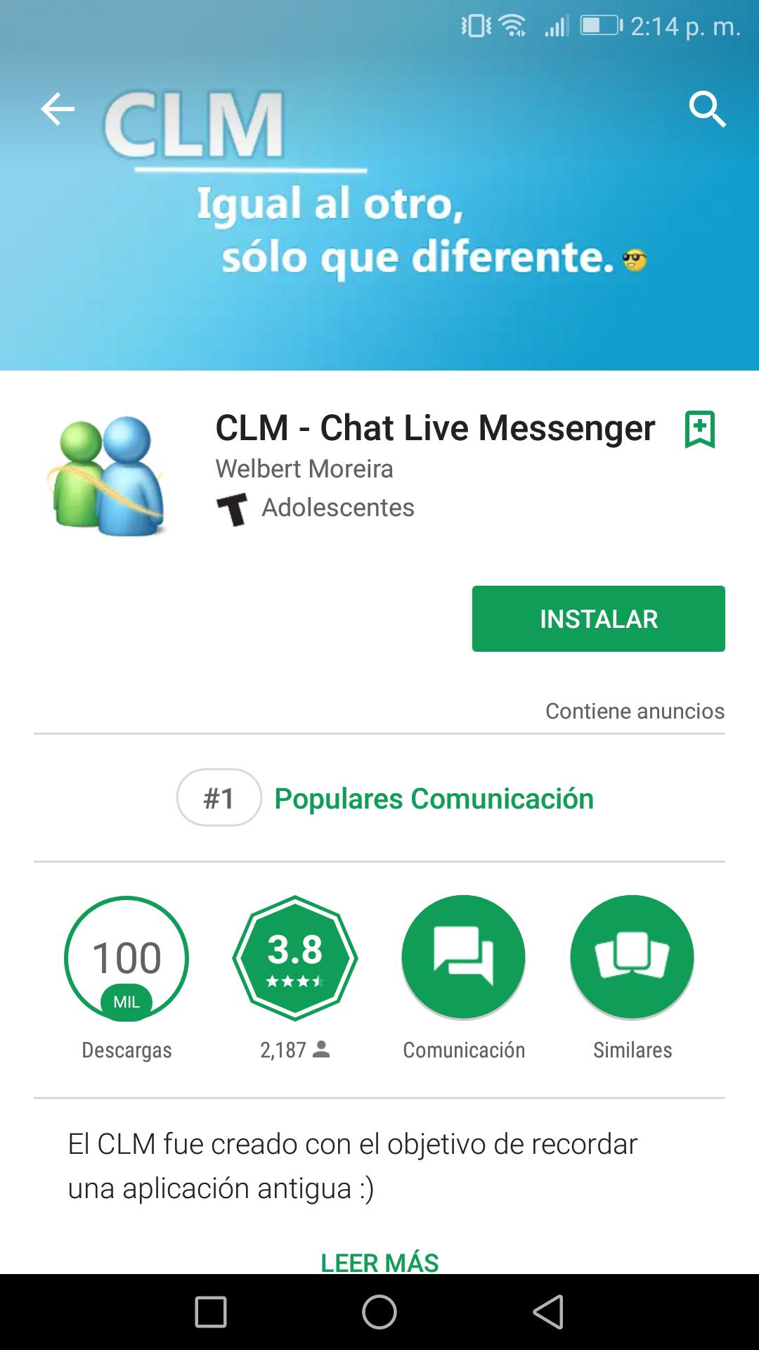 Tomen sus precauciones con CLM, la aplicación que promete